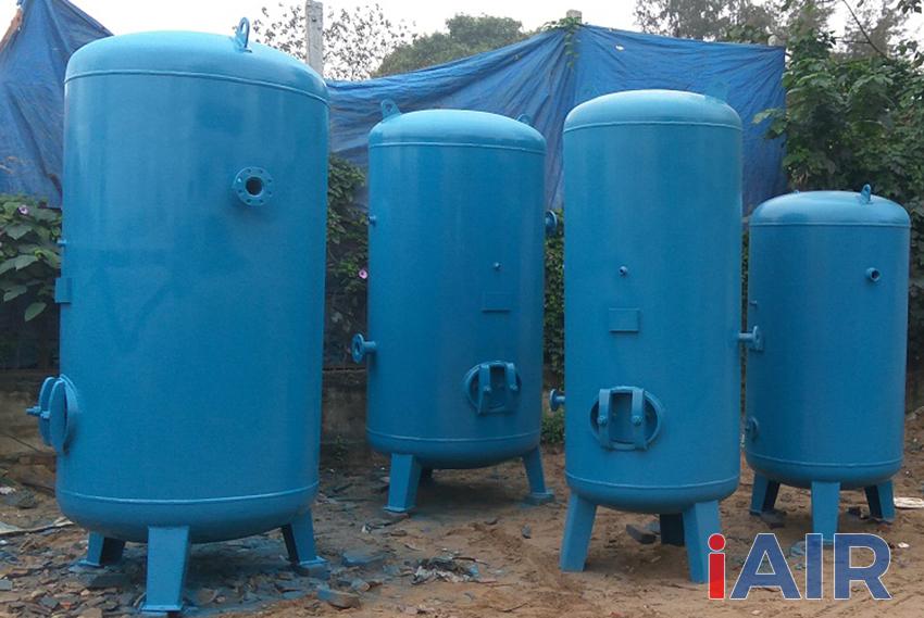 Lựa chọn bình khí nén có áp suất định mức lớn hơn áp suất tối đa của máy nén khí để đảm bảo an toàn.